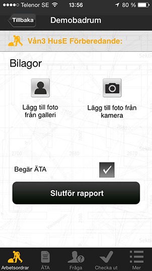 Byggappen Screenshot 1
